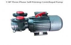 Three Phase 1 HP Three Phase Self Priming Centrifugal Pump., 2800 RPM