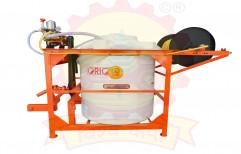 Tractor ORANGE BLACK Power Sprayer, For Spraying, Model Name/Number: Vishwakarma