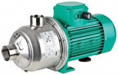 Upto 70 Meter Electricity SS 304 Impeller Wilo MHI Multistage Booster Pump, 5 Hp, Max Flow Rate: Upto 400 Lpm