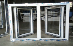 UPVC Casement Window, Glass Thickness: 5-6