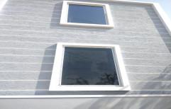 UPVC Fixed Window, Glass Thickness: 8-12 Mm
