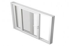 UPVC Sliding Window, Glass Thickness: 5 Mm
