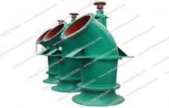 Vertical Axial Flow Pump MFP, Maximum Flow Rate: 181700 m3/h
