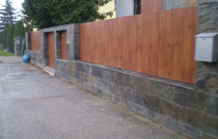 Wood EXTERIOR WOODEN PANELS, Usage/Application: EXTERIOR WALL CLADDING