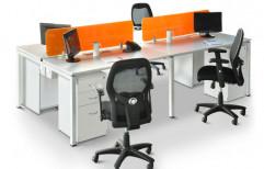 Wooden Modular Office Tables