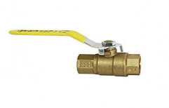 """Yellow Lead Free Brass Ball Valve, Size: DN 8 To 50 (1/4""""-2"""")"""