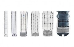 1 - 5 HP 25 to 50 mm Industrial Submersible Pumps, Maximum Discharge Flow: 100 - 500 LPM