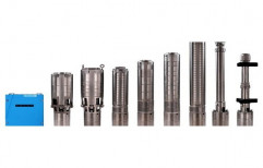 150, 15 Mtr To 45 Mtr Three Phase Solar Submersible Pump, For Agriculture, Submersible