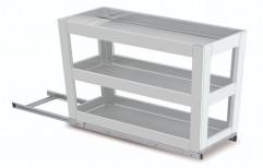 3 Shelves Aluminium Pull Out Drawer for Kitchen