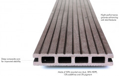 9.5 Running Feet One Length WPC Floor Decking and Wall Cladding, Thickness: 15-20 mm