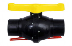 Agriculture PP Solid Ball Valve, Size: 1/2 Inch