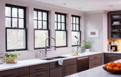 Aluminium Alloy Powder Coating Kitchen Window
