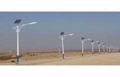 Aluminum 9 W Solar LED Street Light, IP Rating: 44