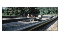 Black 1-25 mtr Effluent HDPE Pipes, for Utilities Water