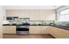 BN Interiors Brown Modular Kitchen, Warranty: 1-5 Years