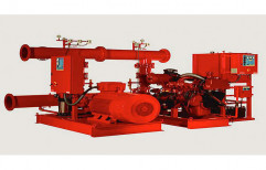 Carbon Steel Red Fire Fighting Pump