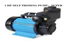 Ci 15 to 50 m 1 HP Self Priming Pump, Model Name/Number: Super, Electric
