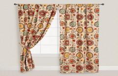 Cotton Printed Window Curtain