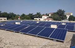 ELECSHINE Mounting Structure SOLAR POWER PLANT, Capacity: 10 Kw