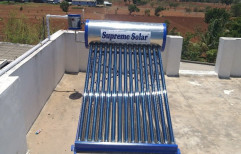 Etc Stainless Steel Solar Water Heater, Warranty: 5 Years, 100 lpd