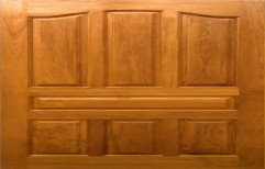 Exterior And Interior Finished African Teak Wood Door, Size: 79 X 36