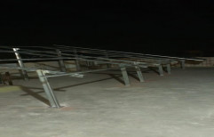 GI Solar Panel Mounting Structure, Bearable Wind Speed: 120 K.m. Per Hour