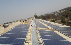 Grid Tie Rooftop Solar System For Tin Shade, For Commercial, Capacity: 20Kw