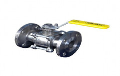 Kavaata Mild Steel Flanged End Ball Valve