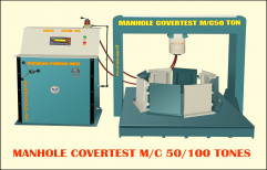 KJE Iron Circular Manhole Cover Testing Machine, KJE-1112