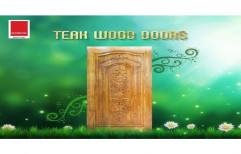Laminated Teak Wood Door, For Home,Hotel etc