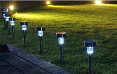 LED Mild Steel, Aluminum Outdoor Solar Light