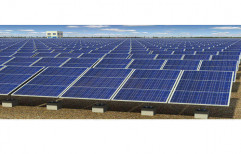 Mounting Structure 100 Kw Solar Power Plant, For Commercial