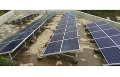 Mounting Structure Grid Tie Grid Tied Solar Power System, Capacity: 1-10 Kw