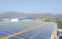 Mounting Structure Grid Tie Solar Rooftop Power Plant, Capacity: 1 kW