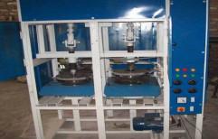 Paper Thali Double Die Machine, 220, 2