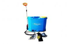 Plastic Sanitizer Battery Sprayer Pump, Capacity: 20 L