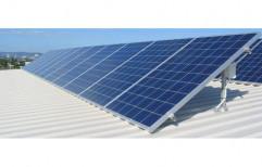 Rectangle Rectangular Rooftop Solar Power System