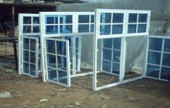 Rectangular Designer Aluminium Window, Size/dimension: 4x6'