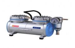 Rocker 410 Vacuum Pump Oil Free Vacuum Pump, Max Flow Rate: 20L/Min