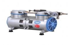 Rocker 810 Oil Free Vacuum Pump, Max Flow Rate: 50l / Min, 1/3 Hp