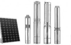 Single-stage Pump 15 to 50 m Solar Water Submersible Pumps, Warranty: 12 months