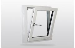 Sliding Rectangular UPVC Tilt Window, Thickness Of Glass: 5-7 mm
