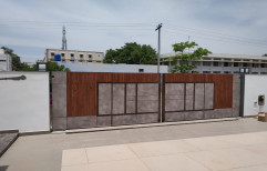 Stainless Steel Gate, For Residential