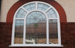 Standard UPVC Arched Window