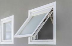 Sudhaker Casement UPVC Tilt Turn Window, Glass Thickness: 4- 8 Mm