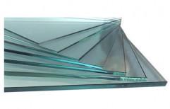 Transparent Window Toughened Glass, Shape: Flat