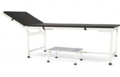 Two Section Examination Table, For Hospital, Size: 6x3 Feet