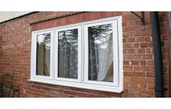 UPVC Fixed Window, Glass Thickness: 6mm