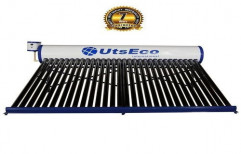 UTS ECO Evacuated Tube Collector (ETC) 300 LPD Solar Water Heater, Warranty: 7 Years