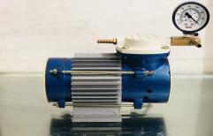 15 LPM Diaphragm Vacuum Pump, Max Flow Rate: 15 L.P.M